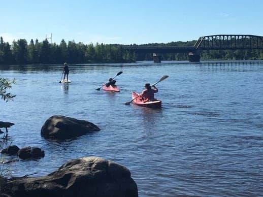 lac seul kayaking