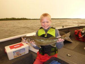 lac seul family fishing trip
