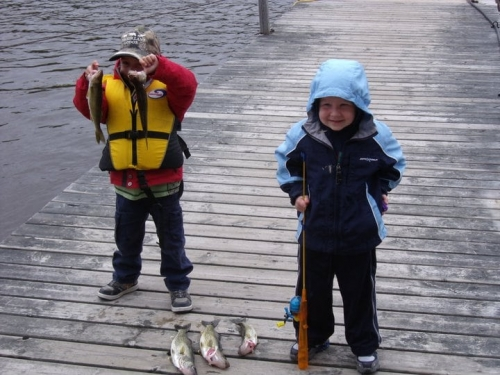 lac seul family fishing trip